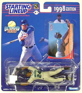 1998 Starting Lineup (SLU) Ken Griffey Jr. Seattle Mariners Extended