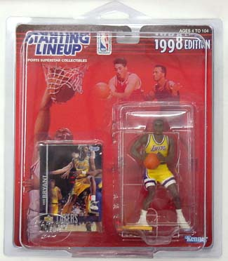 1998 Starting Lineup (SLU) Kobe Bryant Los Angeles Lakers