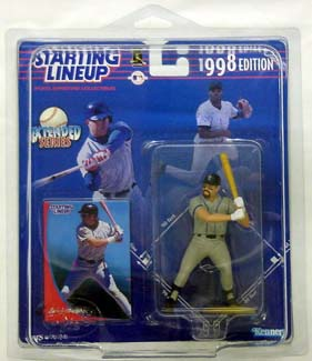 1998 Starting Lineup (SLU) Larry Walker Extended Colorado Rockies