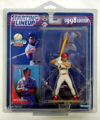 1998 Starting Lineup (SLU) Mark McGwire St. Louis Cardinals Extended