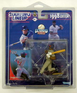 1998 Starting Lineup (SLU) Sammy Sosa Chicago Cubs Extended