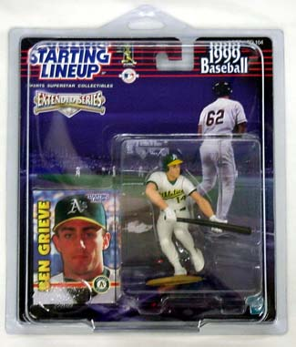 1999 Starting Lineup (SLU) Ben Grieve Oakland Athletics Extended