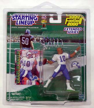 1999 Starting Lineup (SLU) Charlie Batch Detroit Lions Extended