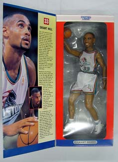 1997 Starting Lineup (SLU) Grant Hill Detroit Pistons