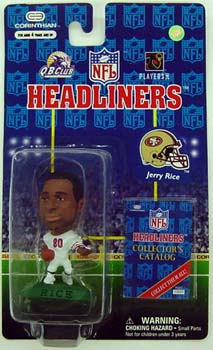 HeadLiners (HL) Jerry Rice San Francisco 49ers White Jersey