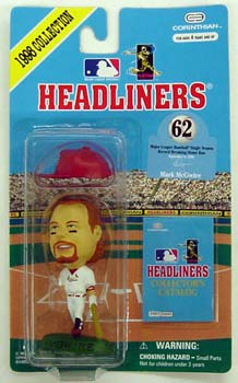 1998 HeadLiners (HL) Mark McGwire St. Louis Cardinals