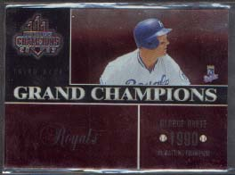 2003 Donruss Champions Grand Champions Metalized #4 George Brett