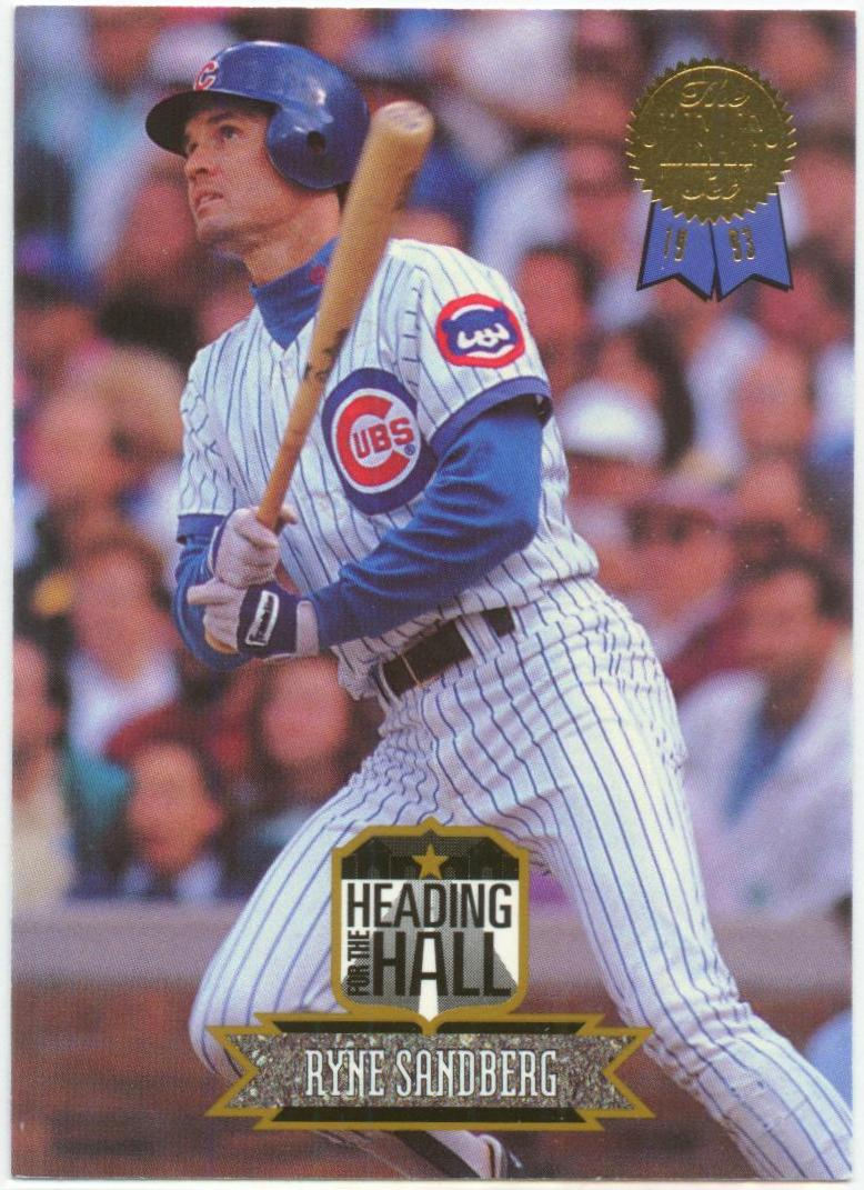 1993 Leaf Heading for the Hall #8 Ryne Sandberg