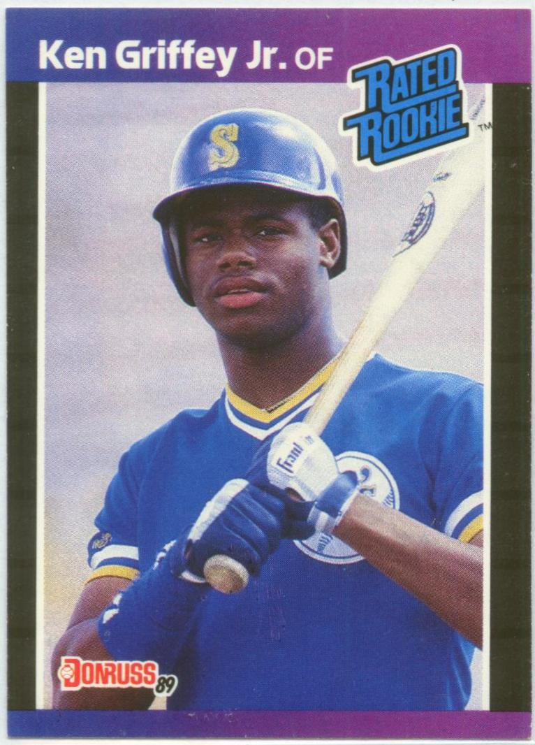 1989 Donruss #33 Ken Griffey Jr. RC