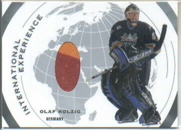 2002-03 ITG Used International Experience Jerseys #IE9 Olaf Kolzig