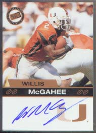 2003 Press Pass Autographs Bronze #41 Willis McGahee
