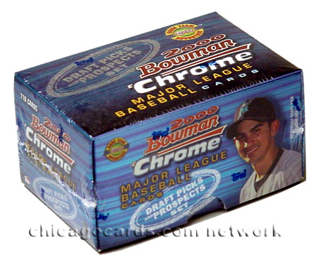 2000 Bowman Chrome Baseball Draft Picks & Prospects Update Set, Factory-Sealed