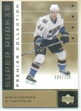 2002-03 UD Premier Collection Gold #70B Steve Eminger