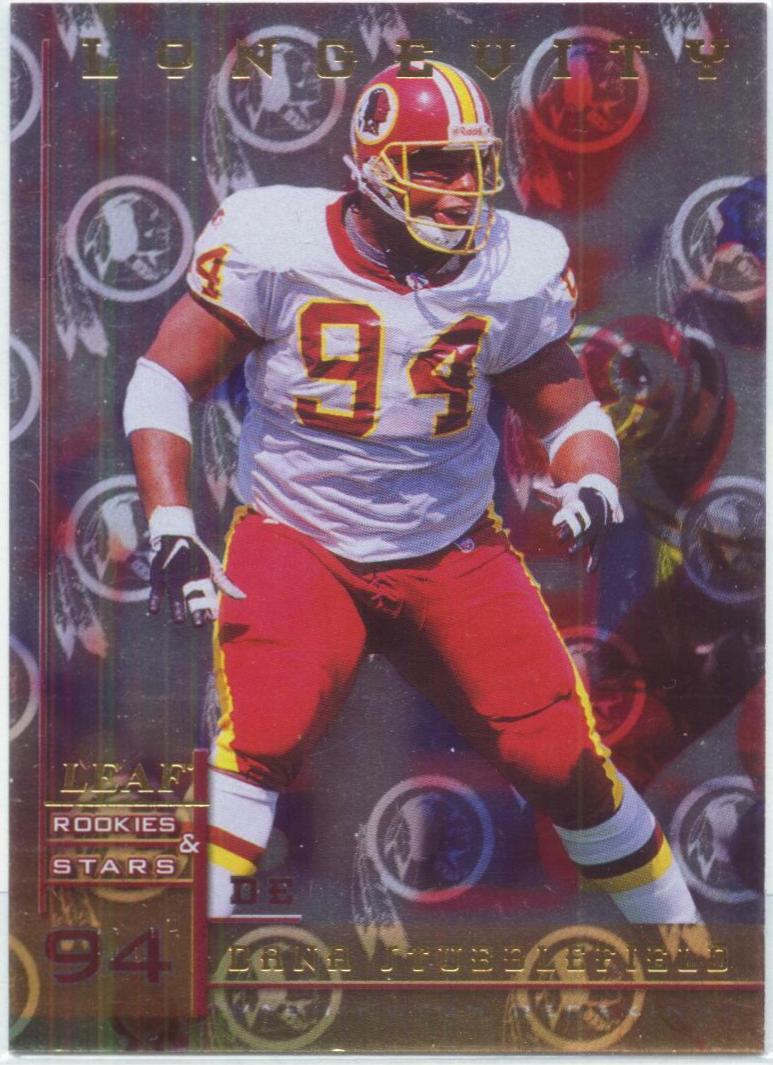 1998 Leaf Rookies and Stars Longevity #17 Dana Stubblefield