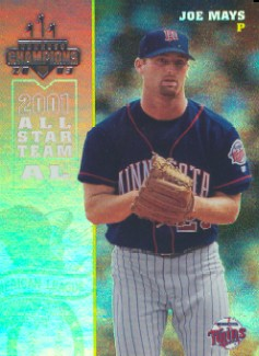 2003 Donruss Champions Holo-Foil #154 Joe Mays