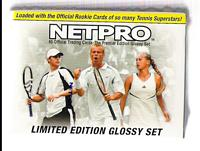2003 NetPro Tennis Premier Edition Glossy set (includes bonus card ... possible Anna Kournikova AUTOGRAPH), Get a FREE 2000 MLB Showdown baseball starter deck!!