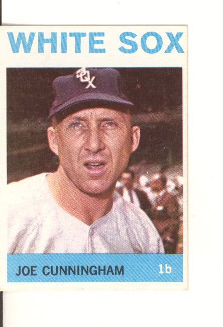 1964 Topps #340 Joe Cunningham