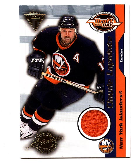 2000-01 Titanium Draft Day Edition #63 Claude Lapointe/1015