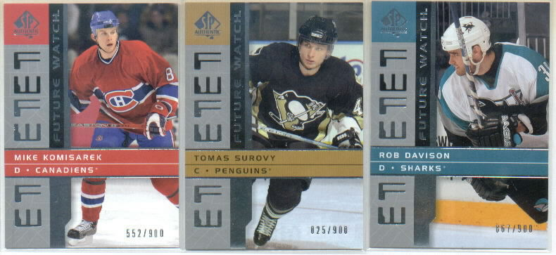 2002-03 SP Authentic #214 Rob Davison RC