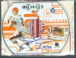1999 Upper Deck PowerDeck Autographs #TC Tim Couch