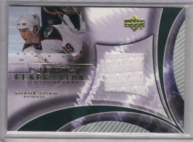 2001-02 Upper Deck Game Jerseys #NGSD Shane Doan NG