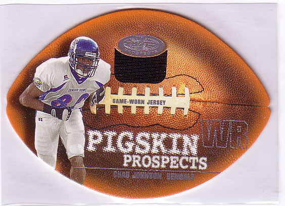 2001 Hot Prospects Pigskin Prospects Jerseys #4 Chad Johnson