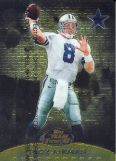 1999 Finest Team Finest Gold #T10 Troy Aikman