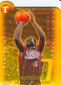 2002-03 Topps Pristine Refractors Gold #98 John Salmons R