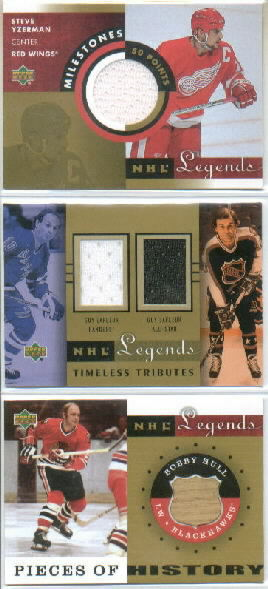 2001-02 Upper Deck Legends Timeless Tributes Jerseys #TTGY Guy Lafleur NY/AS