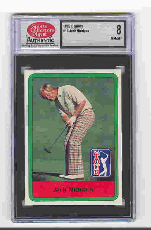 1982 Donruss #16 Jack Nicklaus