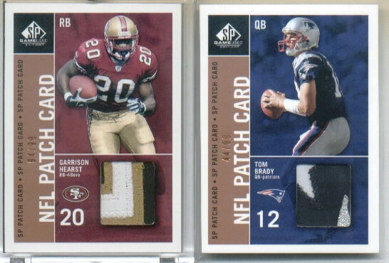 2003 SP Game Used Edition Patch Singles #GH Garrison Hearst
