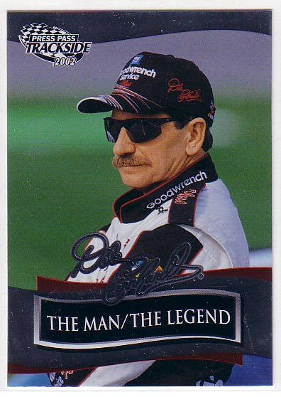 2001-03 Press Pass Dale Earnhardt #DE54 Dale Earnhardt