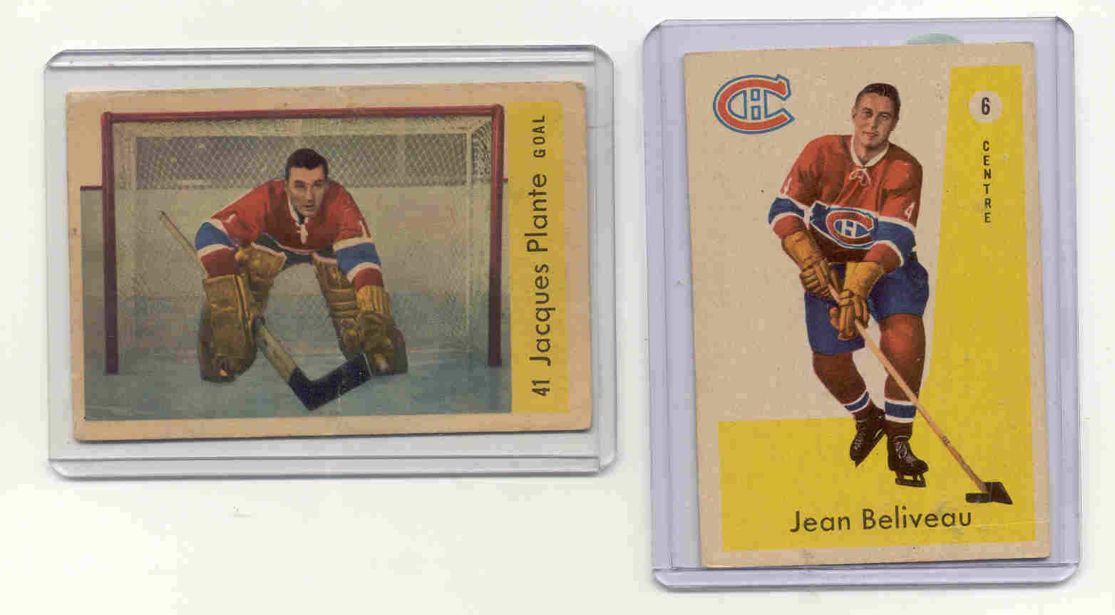 1959-60 Parkhurst #41 Jacques Plante