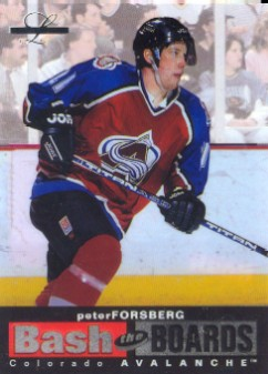 1996-97 Leaf Limited Bash The Boards Promos #P8 Peter Forsberg