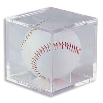 BASEBALL CUBE HOLDER - PROTECT YOUR AUTOGRAPHED  BALLS