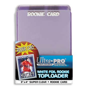 TOP LOADERS ROOKIE PRINT - ULTRA PRO