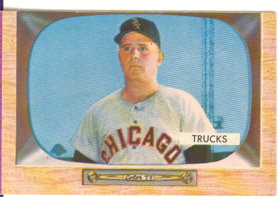 1955 Bowman #26 Virgil Trucks