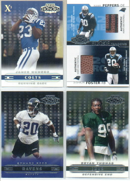 2002 Playoff Honors X's #136 James Mungro