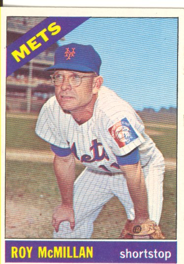 1966 Topps #421 Roy McMillan