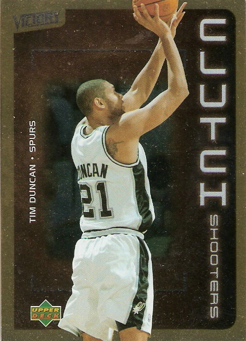 2003-04 Upper Deck Victory Parallel #170 Tim Duncan CS