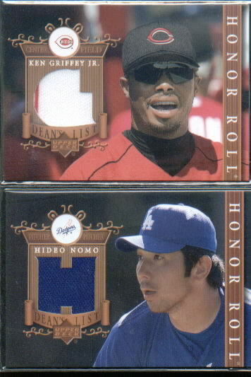 2003 Upper Deck Honor Roll Dean's List Jerseys #KG1 Ken Griffey Jr. G