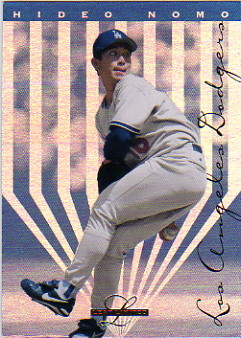 1995 Leaf Limited #64 Hideo Nomo RC