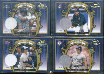 2003 Timeless Treasures Rookie Year Parallel #5 Sean Casey Jsy/97