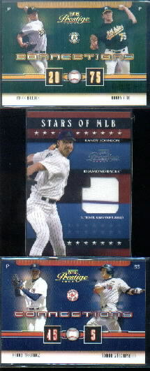 2003 Playoff Prestige Stars of MLB Jersey #2 Randy Johnson