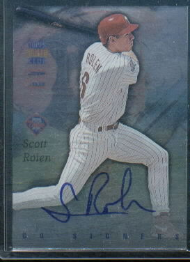 1997 Stadium Club Co-Signers #CO4 Scott Rolen/Gregg Jefferies