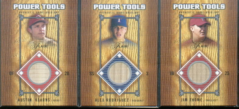 2003 Flair Power Tools Bats #AK Austin Kearns