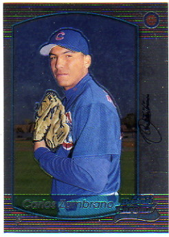 2000 Bowman Chrome #303 Carlos Zambrano RC