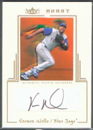 2003 Fleer Avant Autograph Gold #VW Vernon Wells