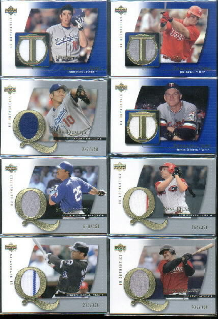 2003 UD Authentics Threads of Time #HK Harmon Killebrew Jsy