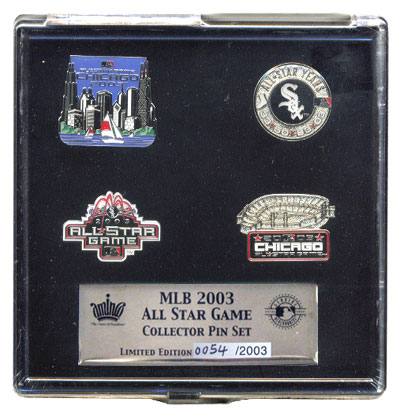 2003 MLB All Star Game Pins (Set of 4)